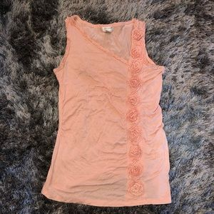 Tank top peachy coral